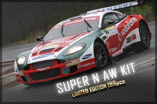 Aston Martin Black Arrow version Rallye Slot